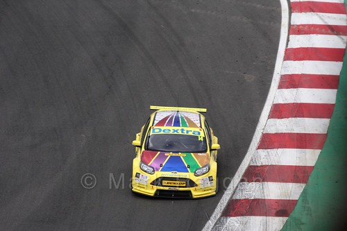 Alex Martin during the BTCC Brands Hatch Finale Weekend October 2016