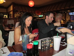 cell phone at dinner, texting at dinner, etiquette, manners, cell phone, cellphone