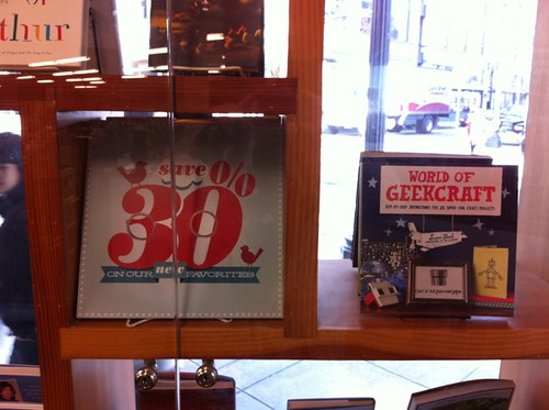 the new favorites display at Powell's
