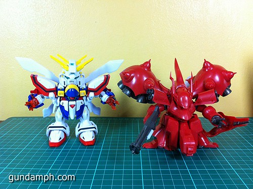 SD Archive God Gundam (25) Out Of Box Review