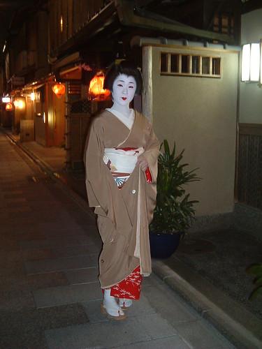 Geisha en Miyagawacho