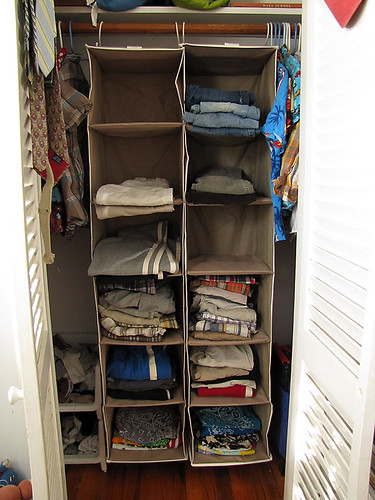 Project Simplify week 3 - In their closet after
