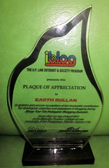 iBlog7 Plaque of Appreciation