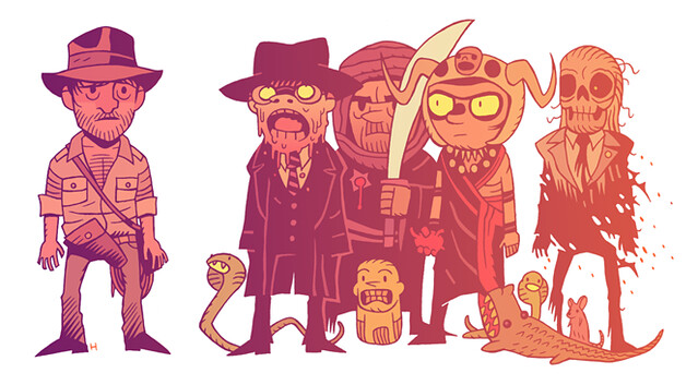 'A day in the life' by Dan Hipp