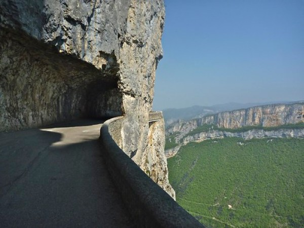 Vertigo:  Cycling in the Vercors