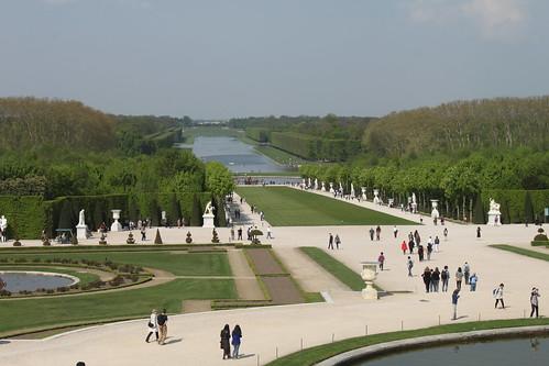 Down the garden - Versailles palace garden