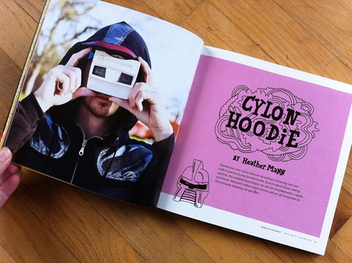 Cylon Hoodie by Heather Mann
