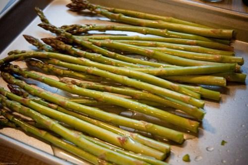{how to} roast asparagus