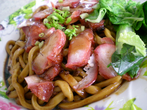 Sing Long char siew noodles