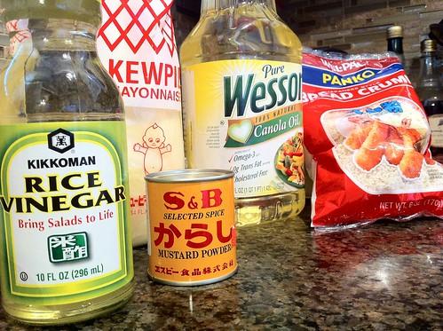 final prep ingredients