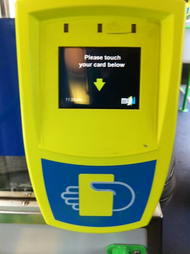 Myki fare machine