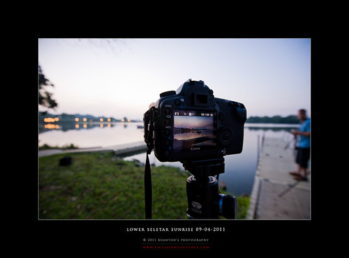 Lower Seletar Reservoir Sunrise 09-04-2011 #3
