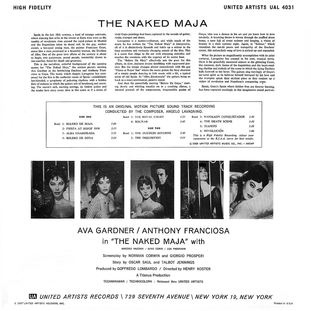 Angelo Francesco Lavagnino - The Naked Maja
