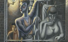 [ B ] Edward Burra - The Common Stair (1929) -...