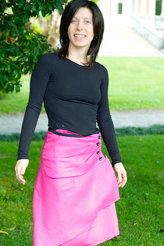 Asymmetrical Skirt by Martha McQuade