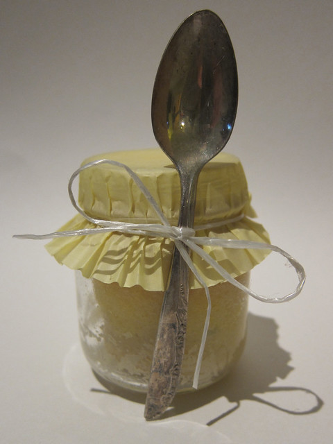 Mini Lemon Cake in a Jar