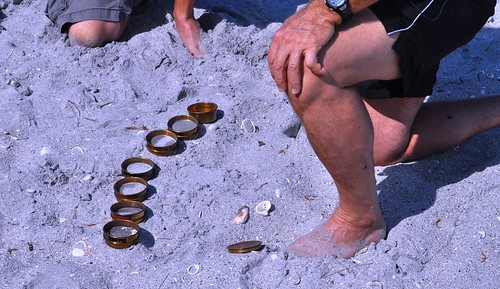 Sand Sifters to Evaluate the Beach, Used by Dr. Beach Stephen P. Leatherman