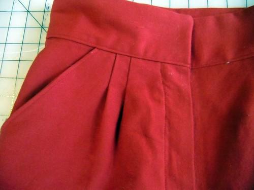 shorts pocket