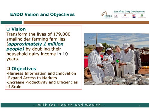East African Dairy Development Project: Vision and objectives