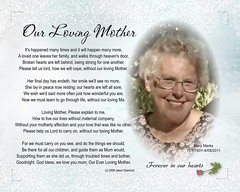 Loving Mother memorial poem