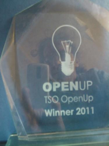 TSO OpenUp trophy :-)