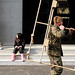 Marines build showers at center