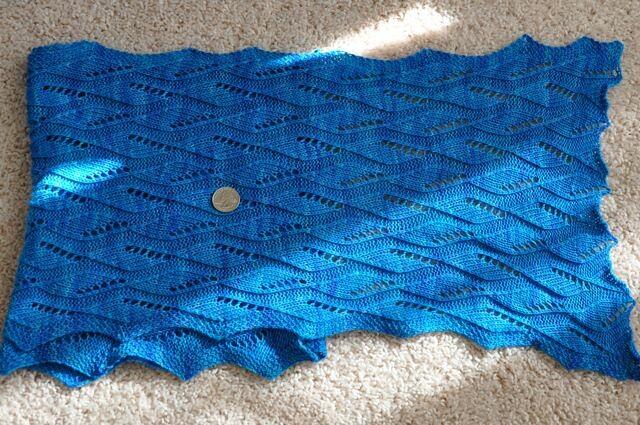 Wollmeise Butternut scarf.