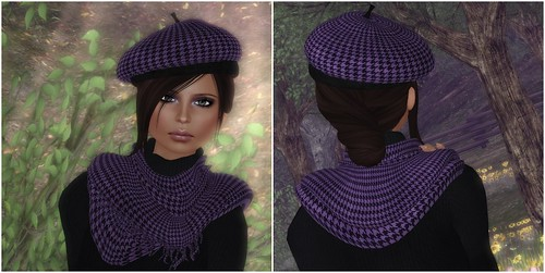 Lady Tania Scarf and Beret