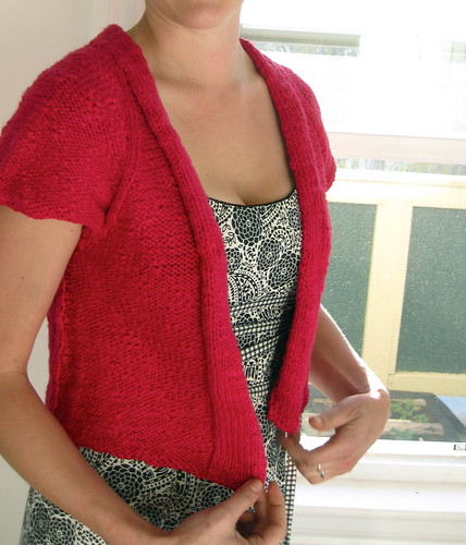 Snowbird cardigan for summer