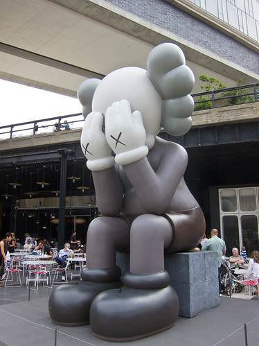 Companion (Passing Through) by KAWS by Laughing Squid