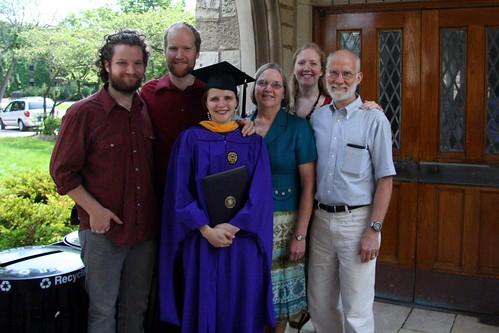 Jonathan, Tim, Charletta, Mom, Abby and Dad