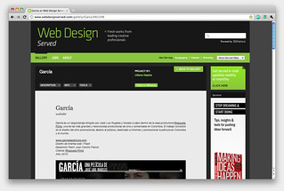 García en Web Design Served