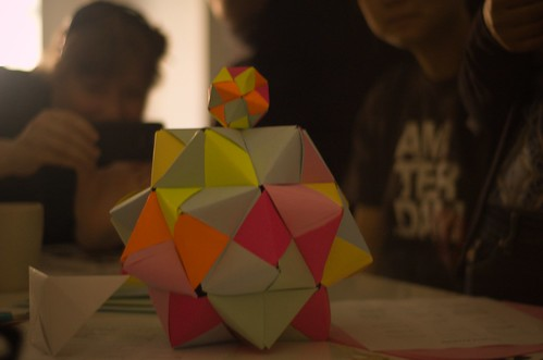Multicoloured Icosahedra, by Charlie (SonniesEdge on Flickr)