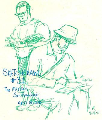 sketchcrawl 31 enrico casarosa
