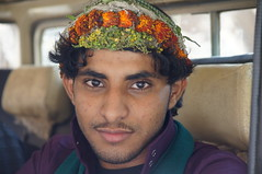 Young flower man of Tihama