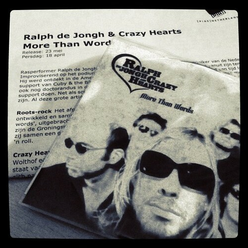 Ralph de Jongh and Crazy Hearts - More Than Words