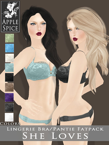 Apple Spice - She Loves - Lingerie Set