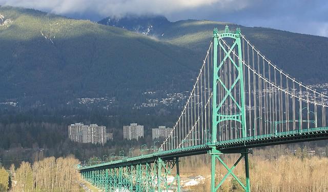 Lions Gate Bridge Vancouver