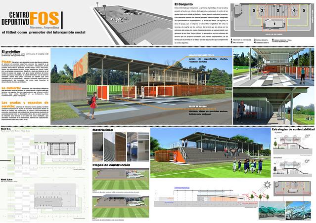 Propuesta Venezuela Concurso Copa Arquitectura