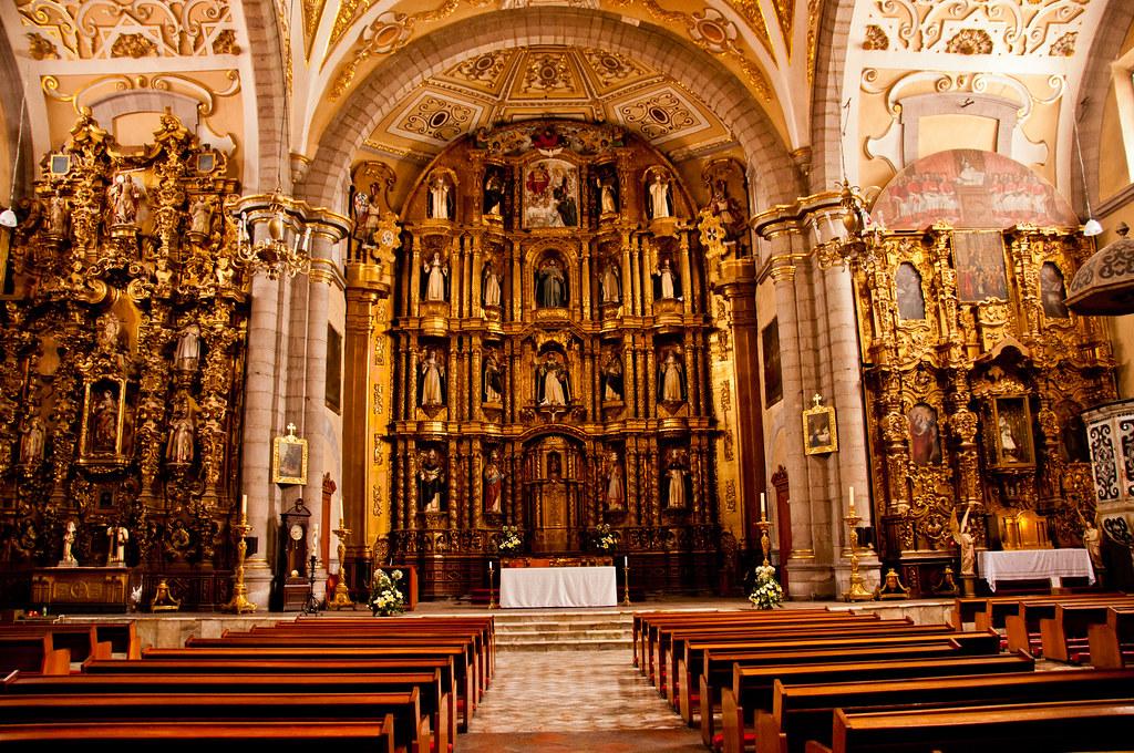 The eastern end of Santo Domingo, Puebla