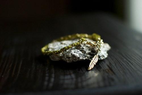 friendship bracelet by Ayofemi Jewelry