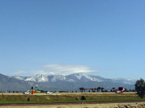 Snow In The San Bernardino Mountains-1