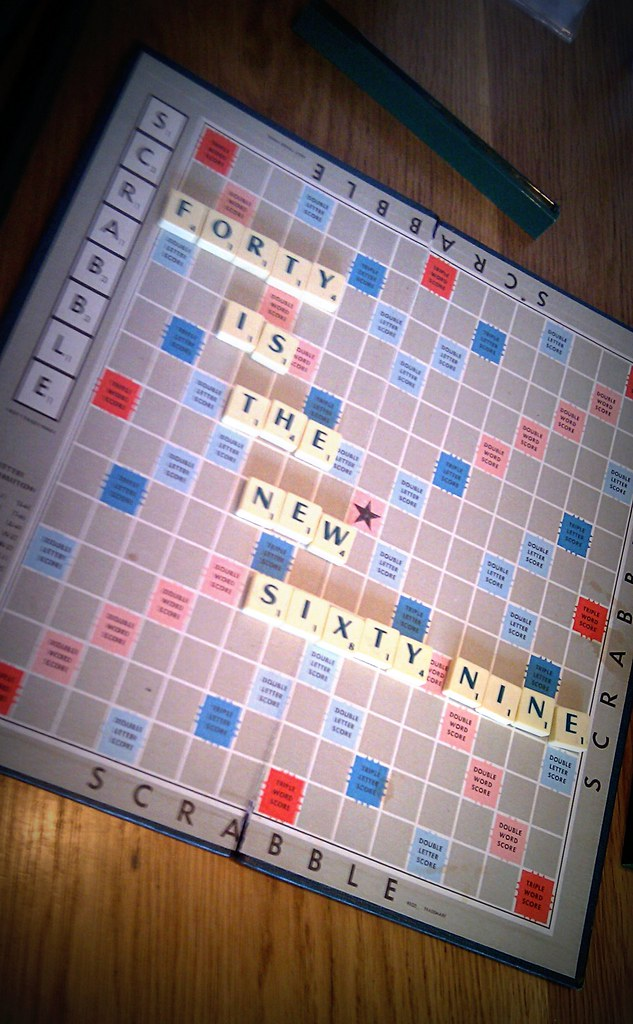 Scrabble Sunday, Chapter at 40