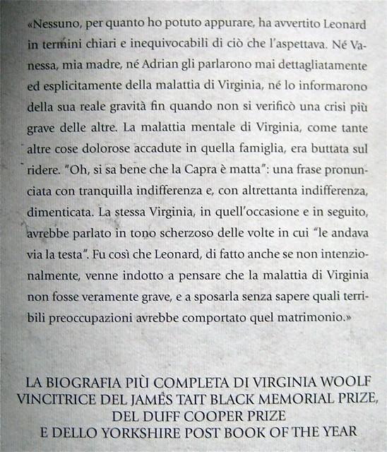 "Quentin Bell, Virginia Woolf, mia zia, La tartaruga edizioni 2011; art director Mara Scanavino, alla cop.: ""Virginia Woolf ritratta da George Charles Beresford; q. di cop.. (part.), 1"