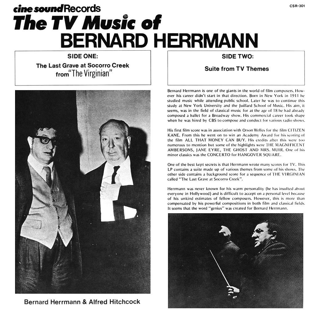 Bernard Herrmann - TV Music of Bernard Herrmann