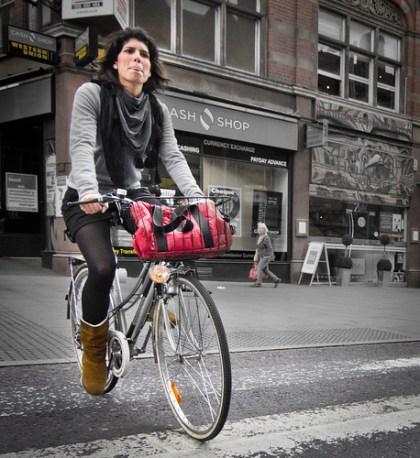 Lady Biker