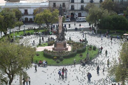 Plaza Murillo, La Paz by Fotos Juanqui