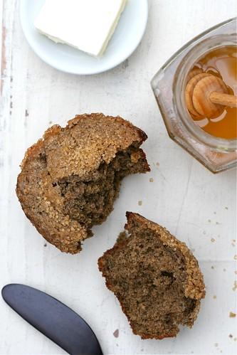 Brown Sugar-Buttermilk Buckwheat Muffins 1