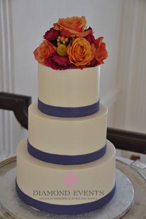 Wedding Cake at Whitehall Manor