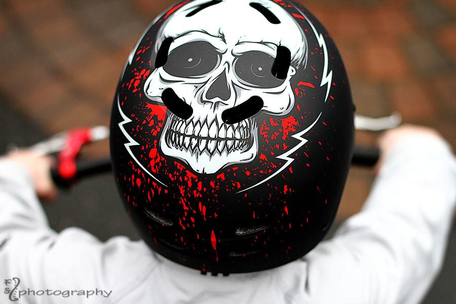 Bad ass biker